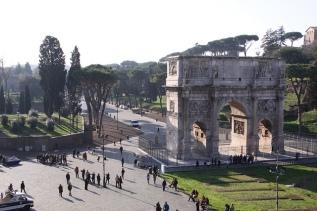 Piazza del Colosseo, Monti, Roma, Lazio, Italia